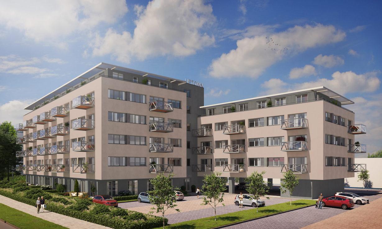 Hip wooncomplex Up-Town gefinancierd door Solid Finance B.V.