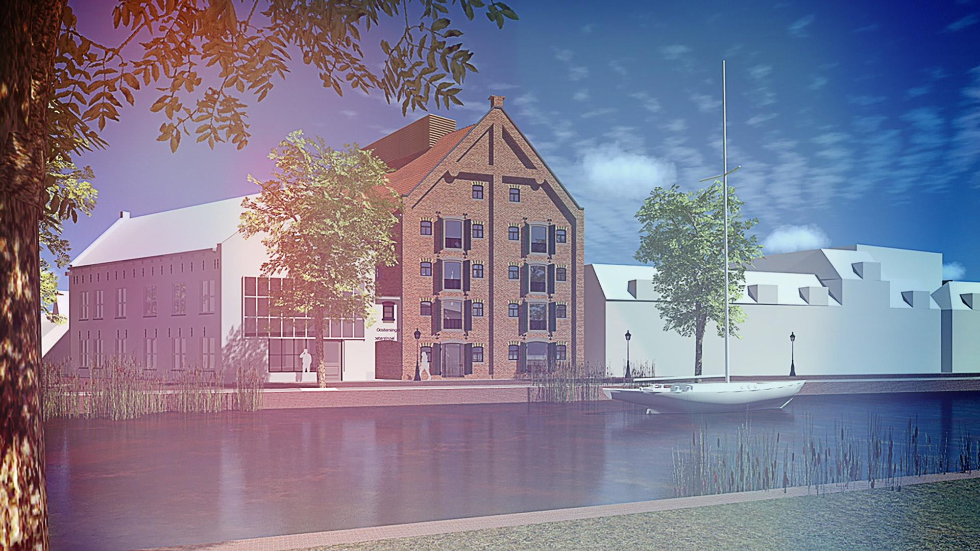 Solid Finance financiert de aankoop en transformatie van monumentaal pakhuis Burmania in Leeuwarden tot appartementencomplex